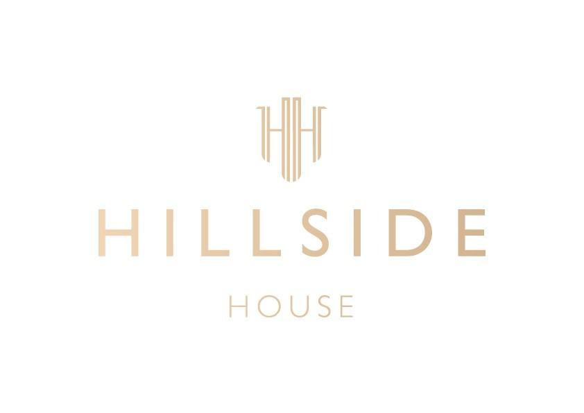 Hillside House Logo White Background