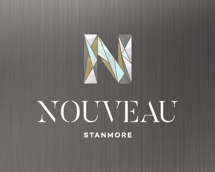 Nouveau Stanmore LOGO grey 150x120